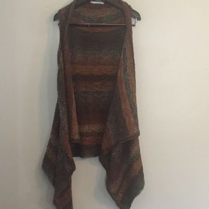 Maurices sleeveless open front sweater. XXL